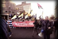 Русские националисты на Марше Мира. Фото и видео репортаж НСН