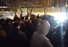 """Соратники Комитета """"Нация и Свобода"""" посетили студенческий сход против этнопреступности"""