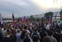 В Новосибирске прошёл Народный Сход за честные выборы