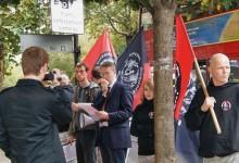 Польские и английские националисты провели акцию против политических репрессий в РФ