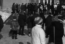 Соратники из Комитета «Нация и Свобода» – Томск, приняли участие в митинге против политического террора