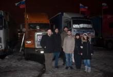 Соратники Комитета «Нация и Свобода» снова посетили протестный лагерь дальнобойщиков