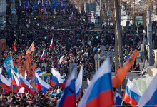 Акции против политического террора Путина прошли в 82 городах