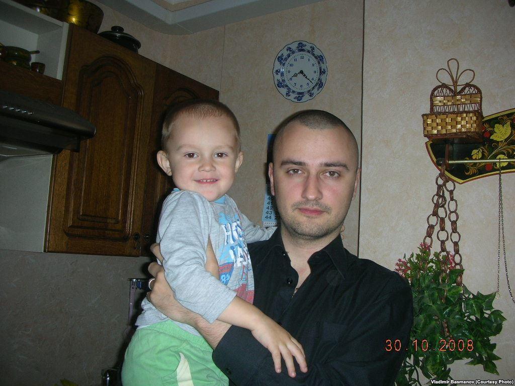 Владимир Басманов с сыном Игорем-Пересветом