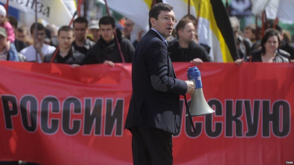 Александр Белов на Русском Первомае 2014 (Национальный день труда)