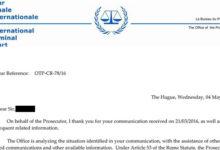 Басманов: Гаагский трибунал ведет расследование преступлений Путина