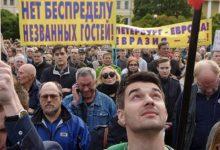 Соратники КНС посетили митинг против переименования моста в честь Кадырова