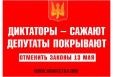 """Комитет """"Нация и Свобода"""" требует от Совета Федерации отклонить пакет репрессивных законов"""