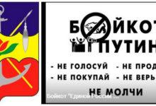 Комитет «Нация и Свобода» Волгодонска провёл акцию в поддержку бойкота партии Путина