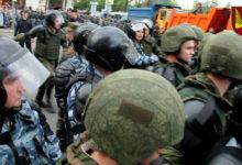 12 июня. Колонна КНС. Протестующие VS ОМОН