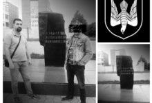 Лидер Комитета «Нация и Свобода» Москвы Владимир Бурмистров посетил в Туле мемориал памяти жертв политических репрессий