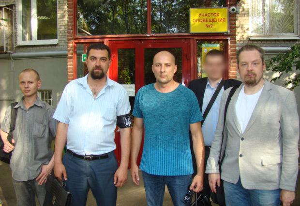 Лидер Комитета «Нация и Свобода» Москвы Владимир Бурмистров получил удостоверение кандидата в депутаты