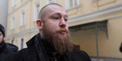 Друг ватников и ЛГБТ Ваня Белецкий против Русского Марша