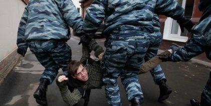 Как вести себя при незаконном задержании во время акции протеста