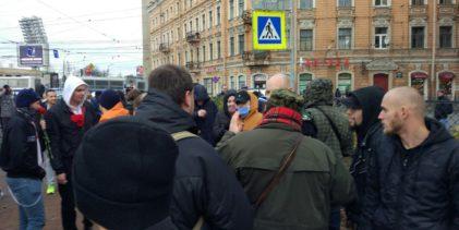 Русский Марш 2017 в Санкт-Петербурге / Видео