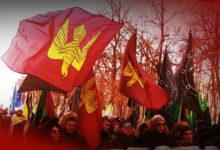 Русские националисты вышли на марш против политического террора