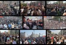 5 мая соратники Комитета «Нация и Свобода» вместе с протестующим народом потребовали отставки Путина и его банды