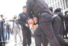 Освобождена большая часть соратников националистических организаций, задержанных на марше в Защиту Интернета