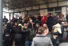 В Москве русские люди пытаются защитить детскую поликлинику от уничтожения наместниками Путина