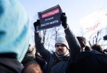 Акция против вечной власти Путина в Санкт-Петербурге: людей много, решимости пока мало