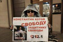 """Продолжается гражданская """"осада"""" администрации Путина, протестующие требуют прекратить репрессии и освободить узников свести"""