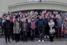 Анастасия Медникова, Николай Ляскин, и Дмитрий Гудков посетили суд по делу левых националистов из «Нового Величия»