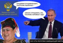 Вся суть замещающей политики Путина