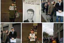 В Москве продолжается бессрочная акция протеста за свободу политзаключённых