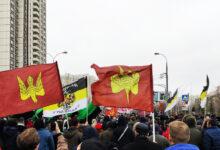 10 человек были немотивированно задержаны на Русском Марше в Москве
