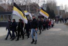 В Новосибирске прошёл Русский Марш против режима Путина, при котором русские вымирают